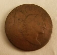 1795 liberty cap large cent sheldon s-77 plain edge