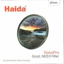 Haida NanoPro MC Soft Graduated ND 0.9 8x Filter 3 Stop GND8 67/72/77/82mm 95mm