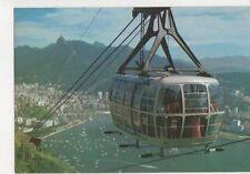 Brazil Rio De Janeiro Bondinho do Pao de Acucar Postcard 780a