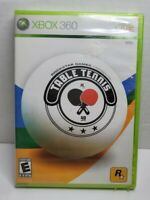 Rockstar presents Table Tennis, Xbox 360 - Brand New Factory Sealed game! A6