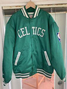 Mitchell & Ness Boston CELTICS NBA Hardwood Classics Jacket XL Great Condition!