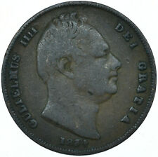 More details for 1834 one farthing gb uk william iv very nice collectible coin #wt27943