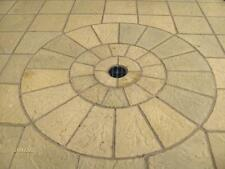 10m2 concrete garden✔patio paving✔slabs  Bundle✔Deal with Circle✔FREE✔DELIVERY✔