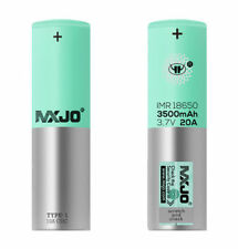 MXJO 18650 3500mAh Rechargeable Batteries - 2 Count