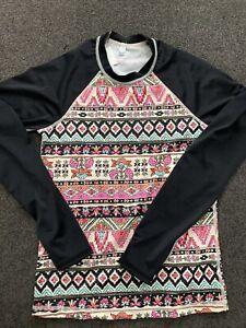 BILLABONG GIRLS Wet Shirt Size 14 RASHIE/ RASH VEST NEW with tags SWIMWEAR