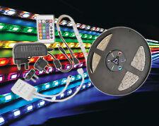 Led Tape Kit DIY 3M RGB Low Voltage Motorhome Caravan Auto Home Remote Control
