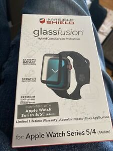 InvisibleShield Glass Fusion Screen Protector Apple Watch Series 4 & 5 44mm/40mm