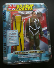 HM ARMED FORCES RAF HELICOPTER WINCHMAN FIGURE RESCUE STRETCHER NEW & SEALED