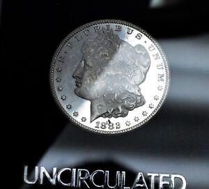 1882-CC Proof Like Morgan Silver Dollar Gem Choice BU+ GSA Carson City Mint Coin