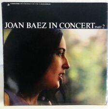 JOAN BAEZ - vintage vinyl LP - Joan Baez in Concert - Part 2