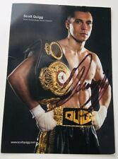 Signed Photograph By Scott Quigg COA Provided