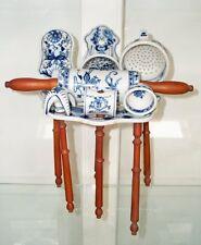 G113: Grande Set Ayuda Cocina Con Tablero de pared, Retro Utensilios de cocina