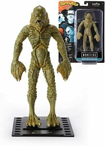 """MONSTERS BENDYFIGS CREATURE FROM THE BLACK LAGOON POSEABLE 7.5"""" NOBLE C NN1167"""