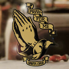 Santa Cruz Praying Hands Sticker skate pray for me adesivo autocollante 100mm