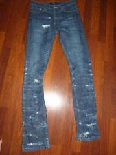 A.P.C. NEW CURE Distressed Straight Skinny Jeans...size 28x33