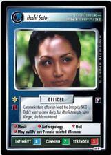 Star Trek CCG Enterprise Collection Hoshi Sato FOIL 49P