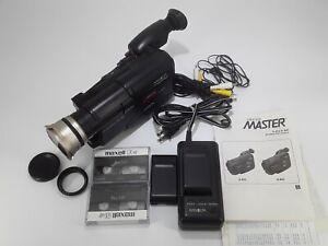 Vintage Minolta Master 8-832 Video 8mm Recorder Bundle