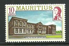 Album Treasures Mauritius  Scott # 461  10r Elizabeth  Royal College  MNH