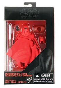 2020 Star Wars - Black Series - 3.75 Figure -  Emperor's Royal Guard - Walmart