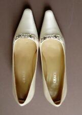 Elegant Wedding Shoes Size 6 Grace Josette Candlelight Silk