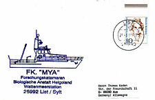 GERMAN SURVEY CATAMARAN FK MYA A SHIPS CACHED CARD