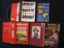 Lotto 4 libri Lorraine Fouchet Muccino e Vangelista Rosetta Loy Grandes Almudena