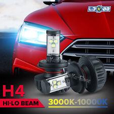 2X H4 120W 9003 HB2 CREE LED Headlight Kit Hi/Low Beam Driving Lamp Bulbs 5Color