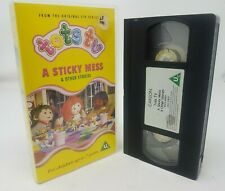 Tots TV: A Sticky Mess & Other Stories VHS from Carlton Video - Tested