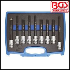 "BGS - Special Cylinder Head Screw Socket Set, 1/2"" Drive, S2 Steel - Pro - 5014"