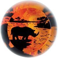Caithness Glass paperweight On Safari Rhino rhinoceros U20044