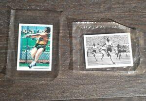 KELLOGG'S - AUSTRALIA AT THE OLYMPICS - 2 CARD Lot #3 & #20 - Original seal