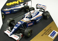 Onyx 231-f1 WILLIAMS RENAULT fw16-Test Car 1995-Damon Hill - 1:43