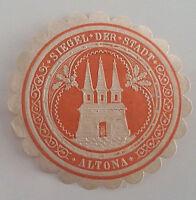 Siegelmarke Vignette SIEGEL DER STADT ALTONA (4808)