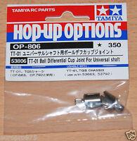 Tamiya 53806/9805581 TT01 Ball Differential Cup Joint For Universal Shaft (TT02)
