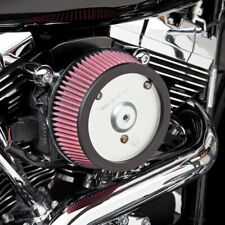 Arlen Ness Big Sucker Stage I Air Cleaner Kit Red Filter Plain Plate 18-505