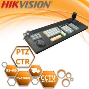 HIKVISION KEYBOARD CONTROLLER RS-485 CCTV JOYSTICK PTZ MENUS CAMERAS DS-1004KI
