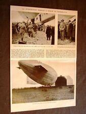 Generale Nobile Dirigibile Italia Stolp in Pomerania nel 1928 + Pubblicità Ford