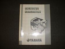 Yamaha Generator Theory and Diagnostics Manuals