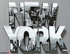 Deko-Bilder & -Drucke aus Holz von New York