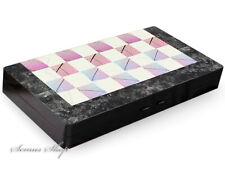 Luxus Backgammon Tavla Stein Optik XXL  B -WARE