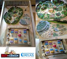 Village Astérix (édition Atlas) + Camp Romain + Champ de Bataille