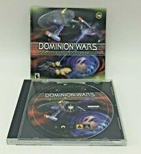 Star Trek: Deep Space Nine - Dominion Wars (PC, 2001) DS9 Combat CD-ROM Game