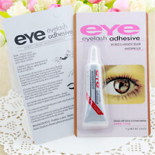 1Pc New Dark Black Waterproof False Eyelashes Makeup Adhesive Eye Lash Glue ~