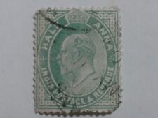 INDIA STAMP - HALF ANNA - KING EDWARD VII