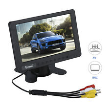 "EYOYO S701 7"" 1024*600 Portable Car TV LCD AV Video Monitor Display For Security"