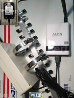 WiFi Antenna 18dBi YAGI + ALFA R36 + G EXTR Long Range Booster GET FREE INTERNET