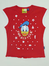 ORIGINAL MARINES T-SHIRT ROUGE DONALD DUCK 6 ANS TWEETY NEUF