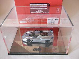 BBR 1/43 SET FERRARI FXX 2006 EX20 LIGHT METALLIC BLUE