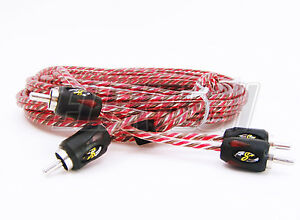 Stinger SI4220 RCA Interconnect Audio Cable 2 Channels 20 ft 4000 Series Stereo