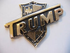 "Vintage 1960's ""Trump"" Guitar Headstock Badge/Emblem/Logo N.O.S."